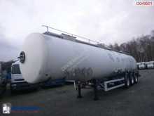 Magyar Chemical tank inox 35 m3 / 4 comp semi-trailer
