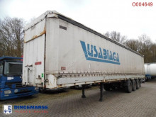 semi remorque Montenegro curtain side trailer + side boards / 36000KG