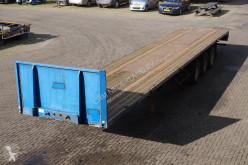 semi reboque Groenewegen Flatbed Drum brakes / BPW axles