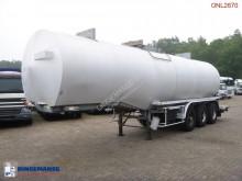 trailer Fruehauf Bitumen tank steel 31 m3 / 1 comp