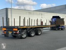 Nooteboom PLATEAU 7.95MTR UITSCHUIFBAAR / 3X STUUR-ASSEN semi-trailer