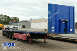 semi reboque Meusburger MPS-3,3-Achser Plattform,Container-Verrieglun