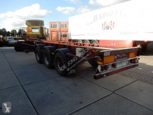 Renders container semi-trailer