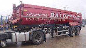 semi remorque ATM OKHS 18/20C (BPW-AXLES / CHASSIS AND TIPPER STEEL / BEGIAN TRAILER)