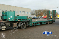 transport utilaje Meusburger MTS-2 achser/hydr. Rampen/8,7 m. lang/Luft