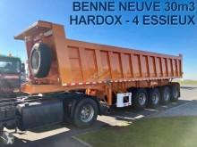 semi remorque Sodexim BENNE ACIER 30m3