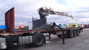semirremolque LAG 0-3-39 (HIAB R 165 CRANE / BELGIAN TRAILER IN GOOD CONDITION)