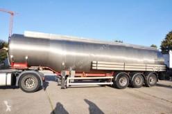 semi reboque Magyar Benzin & Diesel INOX, ADR till 03/2020 vailid