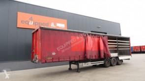 semi remorque Van Hool SAF INTRADISC, al. sideboards, Dutch trailer, MOT: 30/10/2020, hardwooden floor
