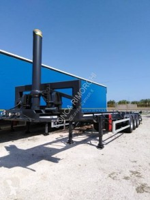 semirimorchio Lecitrailer Portacontainer ribaltabile 40 ft