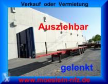 semi remorque Schwarzmüller 3 Achs Auflieger gelenkt, 6 m Ausziehbar + Heck