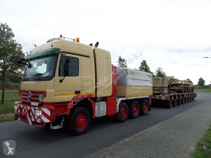 View images Goldhofer THP/UT2 + THP/UT3 +THP/UT4 + THP/UT4 Modular lines modules trailer truck