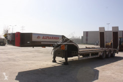 Alpsan heavy equipment transport semi-trailer
