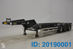 Turbo's Hoet 20 ft skelet met spoelbak semi-trailer