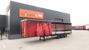 semiremorca Van Hool zijborden, hardhouten vloer, SAF INTRADISC, NL-trailer, APK: 11/2020