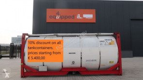 n/a 10% DISCOUNT ON ALL TANKCONTAINERS, BIG VARIED STOCK (Around 60 pieces), STARTING FROM €5.400,00