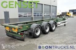 semi reboque HFR SB24 40ft HC + GENSET 2011 * 4460 Kg Netto *