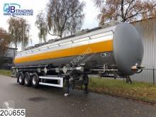 semi remorque Van Hool tank 50500 liter, 3 Compartments, Isolated, max 4 bar, 120c