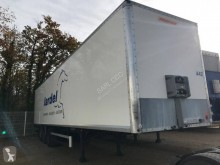 Fruehauf Semi remorque fourgon CD 725 LC semi-trailer