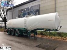 semi remorque Fruehauf Chemie 31075 Liter, Isolated, Steel suspension