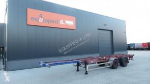 semi remorque Schmitz Cargobull BPW (10 TON), BLATTFEDERUNG, 40FT, 2x20FT, 1x20FT Zentral, Doppelbereifung