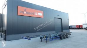 Schweriner 40FT HC, 2x20FT, 2x20FT Zentral, Blattfederung BPW, NICHT-ausziehbar semi-trailer