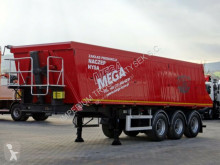 semi remorque Mega TIPPER 35 M3 / LIFTED AXLE / SAF AXES /
