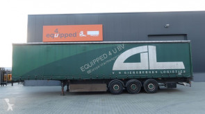 LAG COIL, discbrakes, liftaxle, hardwooden floor, palletbox, MOT:11/2020 semi-trailer