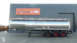 Dijkstra Dijkstra, 37.500L/1-comp/4 baffels, ADR, BPW, NL-trailer, steering axle, semi-trailer
