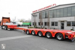 do transportu sprzętów ciężkich Kässbohrer LOW LOADER SEMI-TRAILER 5 AXLES KASSBOHRER EXTENDED 6 M