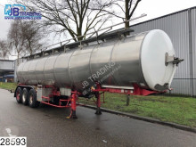 semi remorque BSL Food 28500 Liter, Isolated Tank , 6 Compartments, Food, nourriture, Lebensmittel, Levensmiddelen, 0,1 bar
