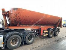 Fruehauf 24m3 benne - 2-ess SMB - LAMES - SPRING - BLATT - chassis ACIER / Benne ACIER - Chassis STEEL / Tipper STEEL semi-trailer