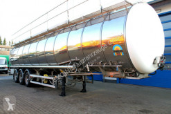 semiremorca cisternă transport pulverulent second-hand