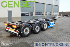 D-TEC FLEXITRAILER + GENSET * 2676 hours * semi-trailer
