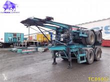 semi remorque Trailor Container Transport