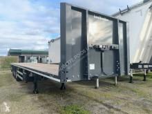 trailer platte bak IJzertransport Lecitrailer
