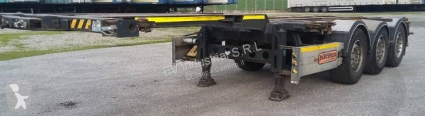 semi remorque Piacenza Porta Container Allungabile