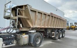 Trailor construction dump semi-trailer