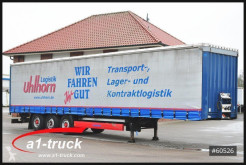 Krone SD, Tautliner, Liftachse, Staplerhalterung semi-trailer