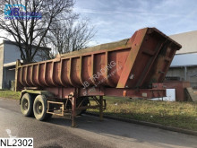 semi remorque Fruehauf kipper Steel suspension