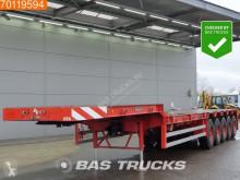 Goldhofer flatbed semi-trailer