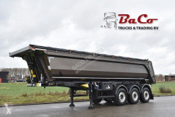 naczepa Stas S300CX 30m³ - SAF AXLES - 1 LIFT AXLE - DISC BRAKES - HARDOX STEEL KIPPER/CHASSIS - LIKE NEW -