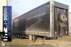 Meusburger Pianale centinato gran volume 4 assi con rampe semi-trailer