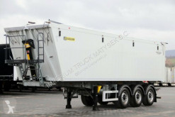 semi remorque Zasław TIPPER 46 M3 / LIFTED AXLE / LIKE NEW 2018 /