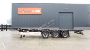 Krone 40FT HC, Leergewicht: 5.280kg, hinten-ausziehbar, NL-Chassis, APK: 05/2020 semi-trailer