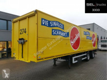 Ackermann PS-F 18/11,5e / Ladebordwand / Lenkachse semi-trailer
