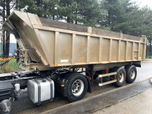 semirremolque Benalu 25m³ - Fruehauf Tipper / Benne - F - STEEL SPRING / LAMES - alu / alu - good condition / bonne etat condition