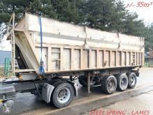 Trailor +/- 35m³ BENNE - 3 ESS F - SUSP LAMES - CHASSIS ACIER / BENNE ALU --- TIPPER - STEEL SPRING - STEEL CHASSIS / ALU TIPPER semi-trailer