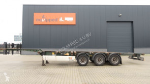 Krone 40FT HC, empty weight: 5.280kg, extendable at the rear, NL-Chassis, BPW, Apk: 04/2020 semi-trailer