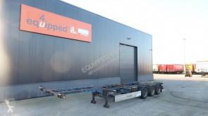 semi remorque Krone 45FT-HC, BPW, achter uitschuifbaar, NL-chassis, APK t/m 19/11/2020